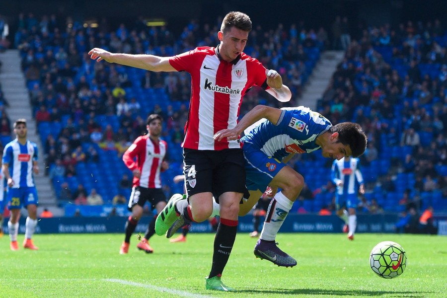 Aymeric Laporte has been a rock at the back for Athletic Bilbao