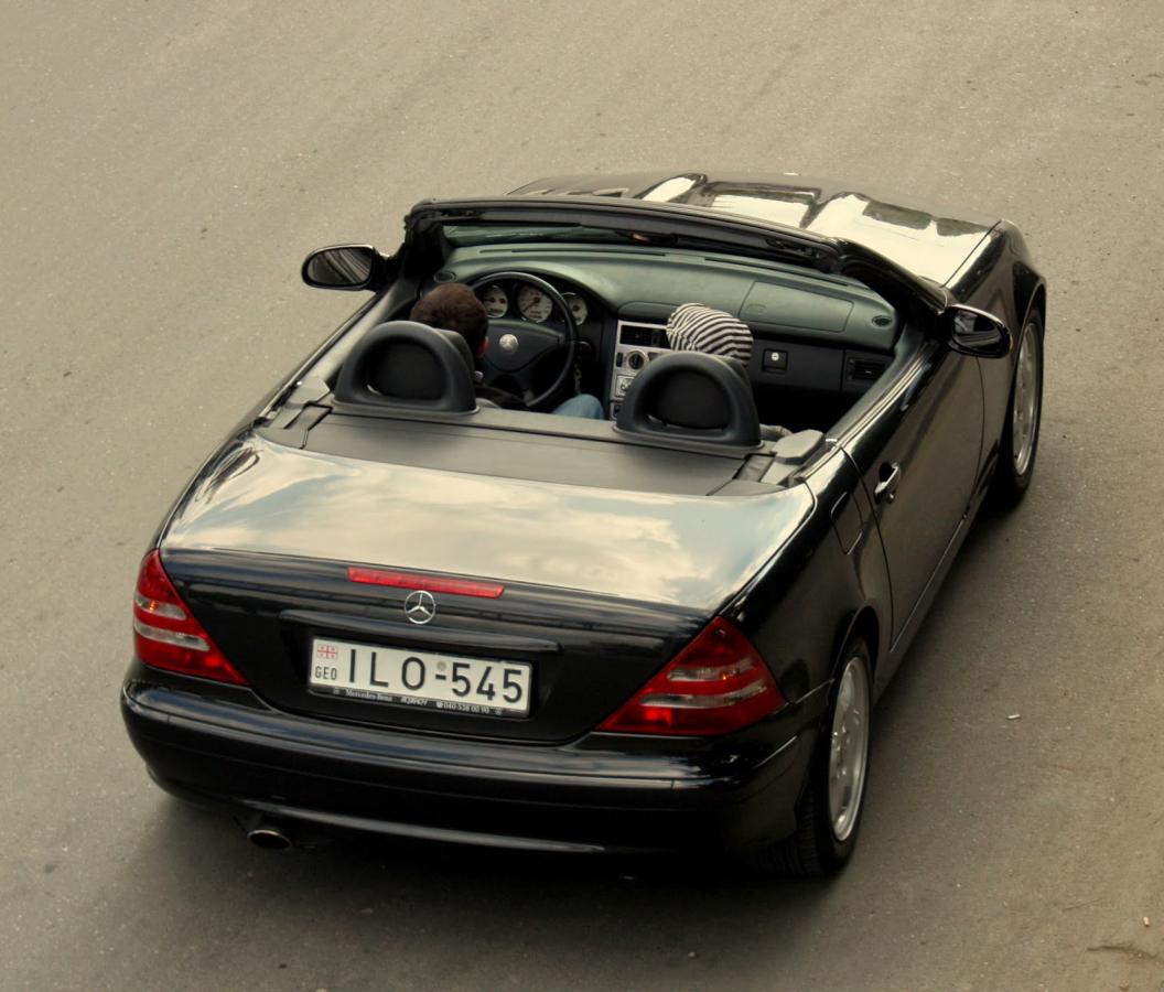 Mercedes SLK - ეგოისტური სასიამოვნო გამოცდილება