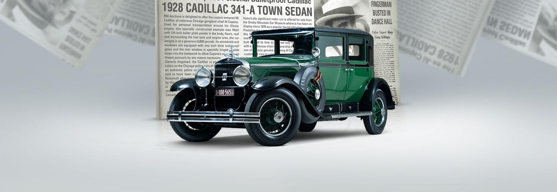 $1 მილიონ დოლარად შეფასებული Al Capone-ს მანქანა