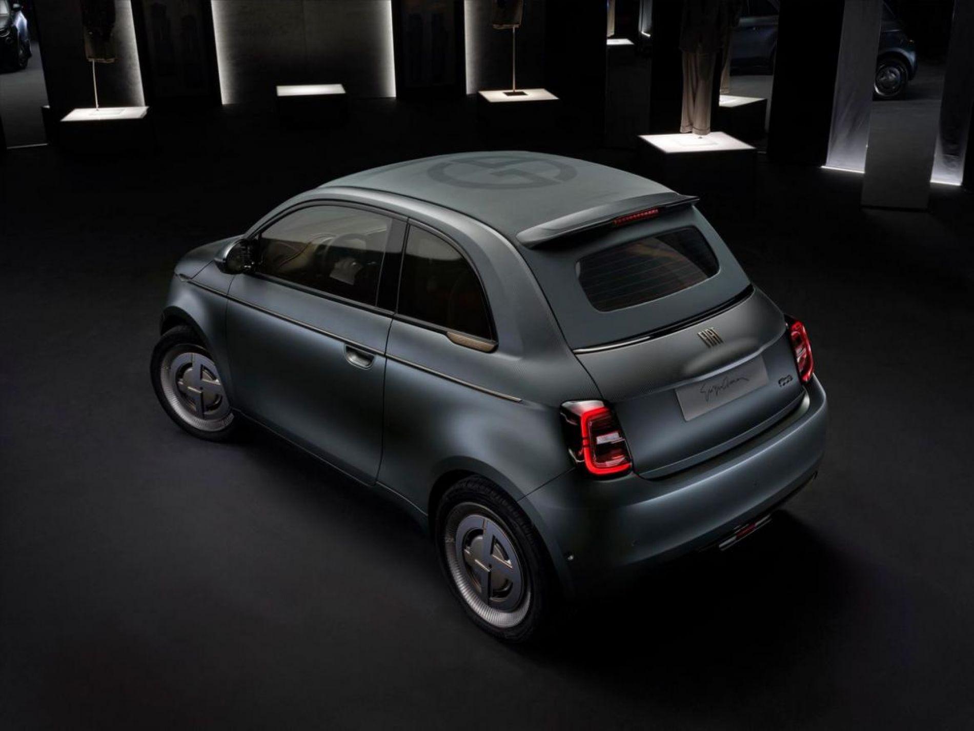 Fiat 500e designed by Giorgio Armani