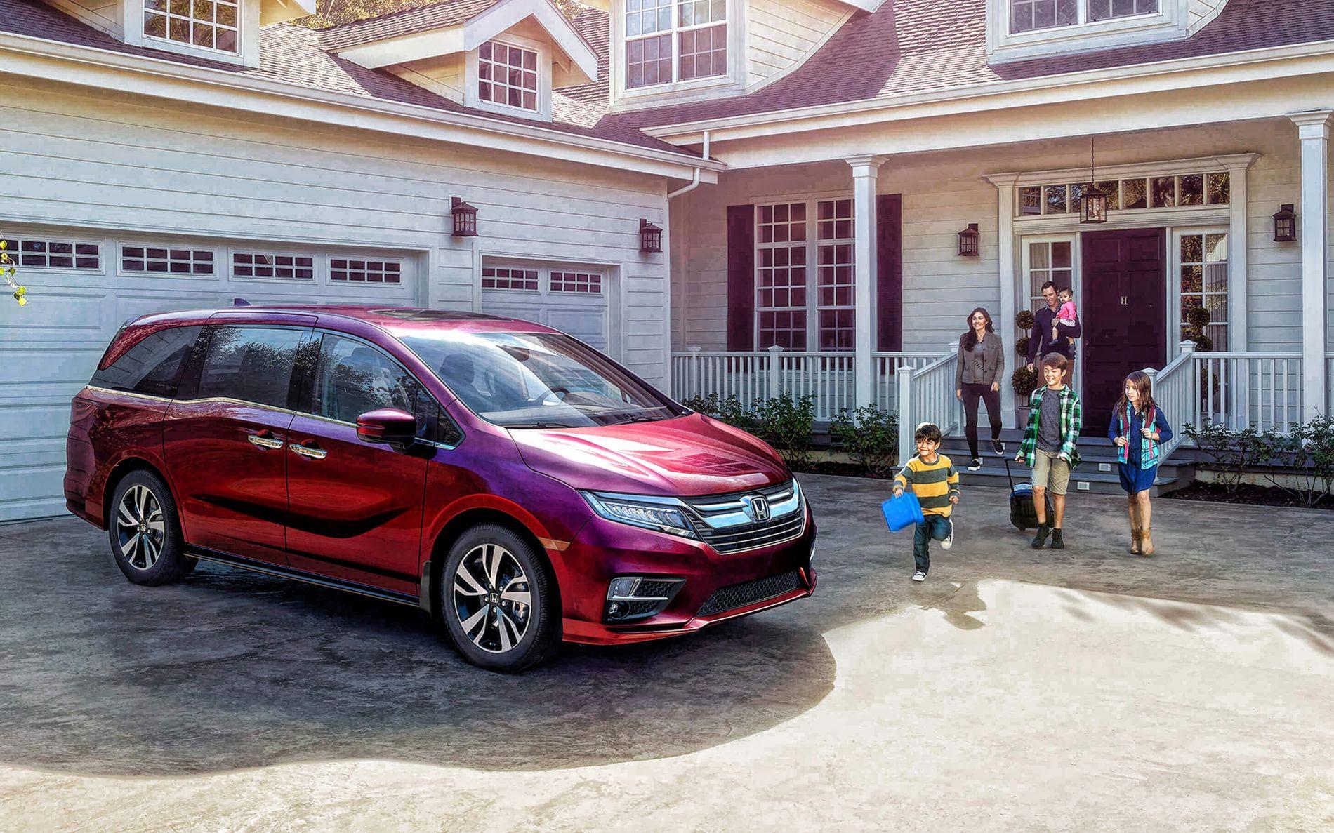 2020 Honda Odyssey - ოჯახის მეგობარი