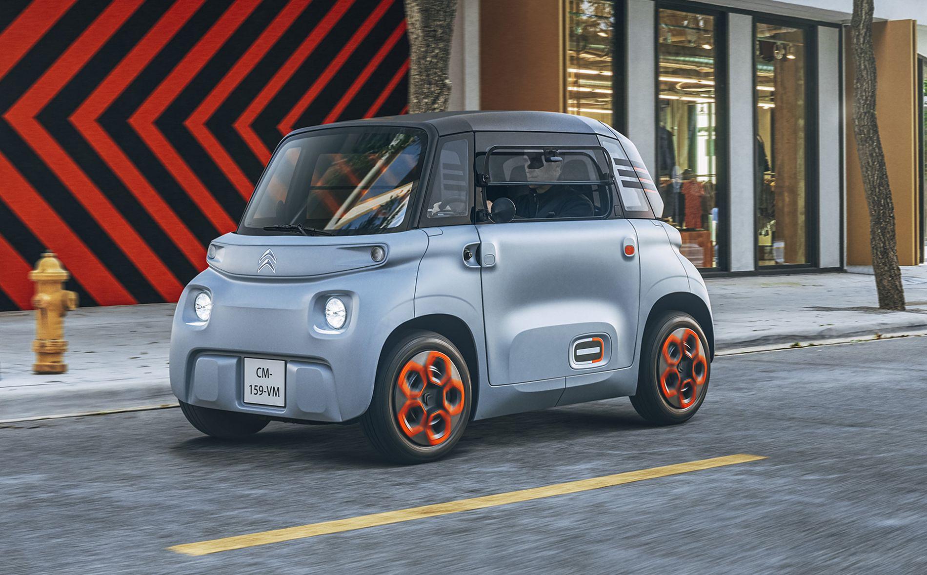 2021 Citroen Ami - მომავლის ტრანსპორტი