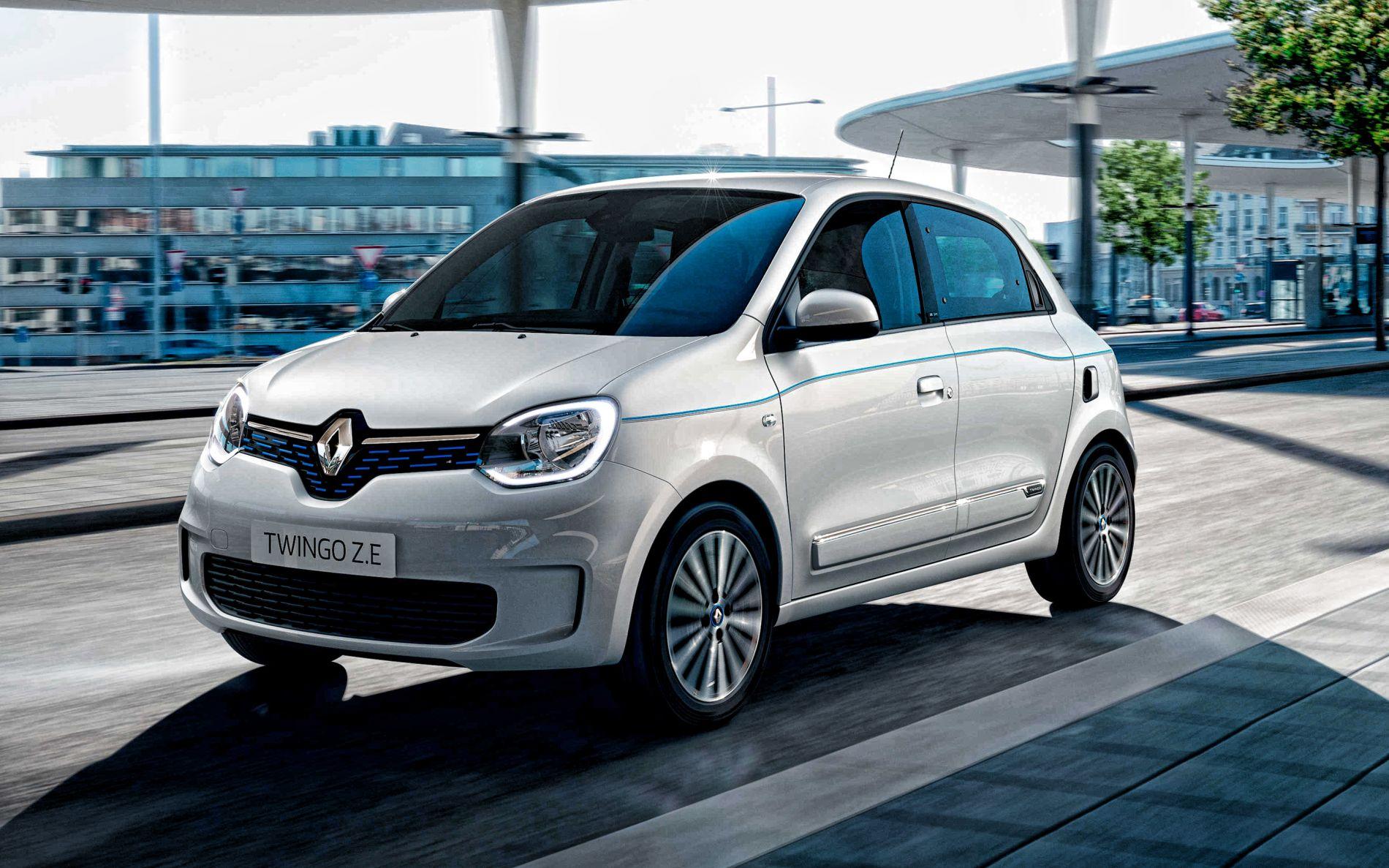 2020 Renault Twingo Z.E. - ფრანგული ეკო მობილი
