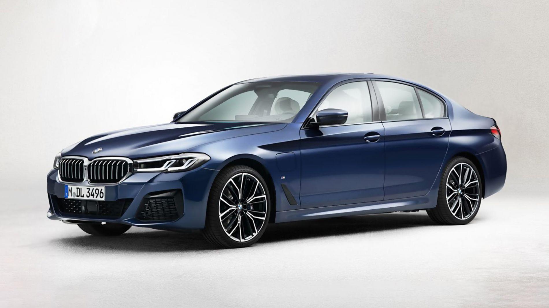 2021 BMW 5 Series - განახლებული დიზაინით