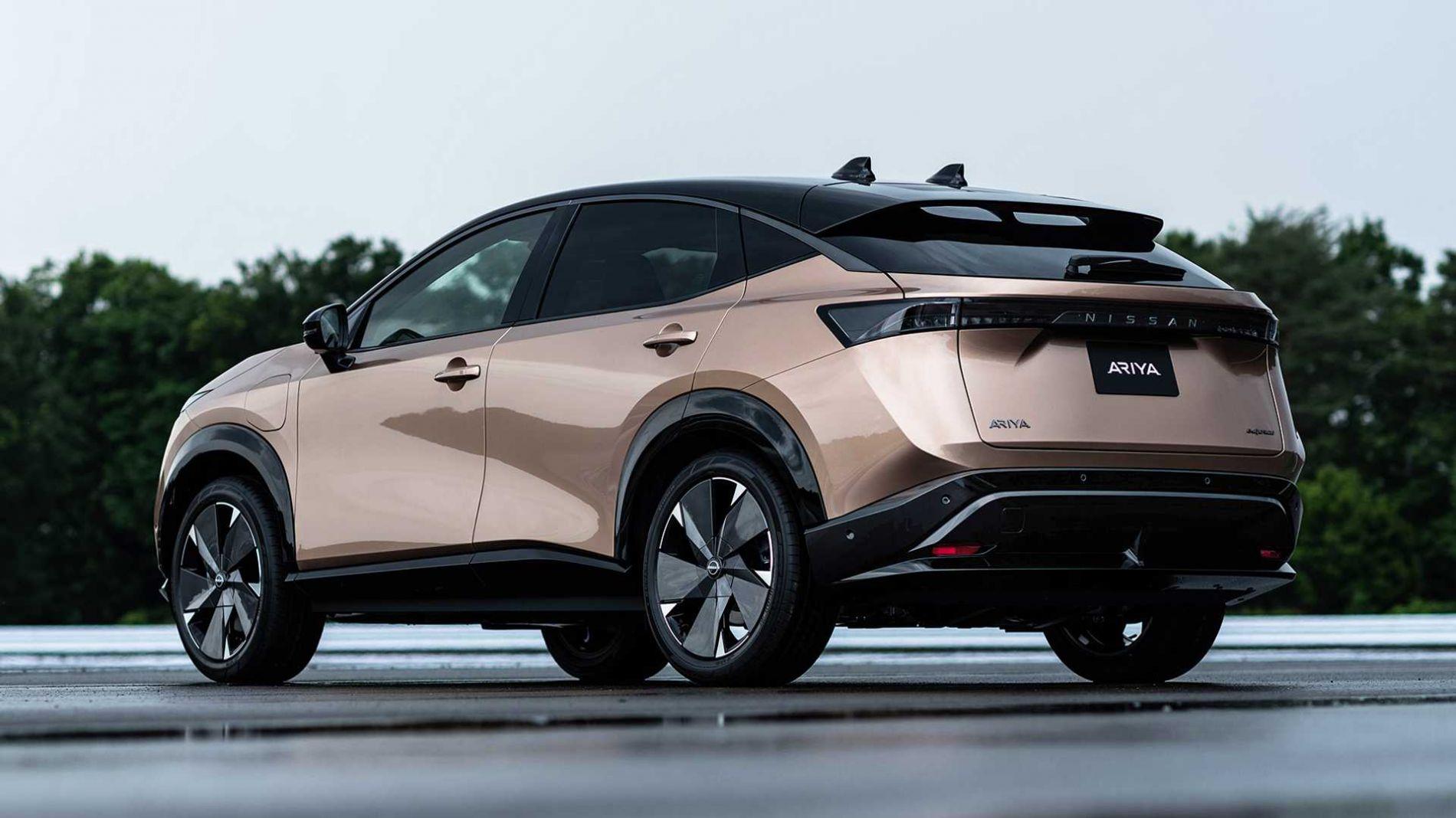 2021 Nissan Ariya - პირველი ელექტრო კროს-კუპე