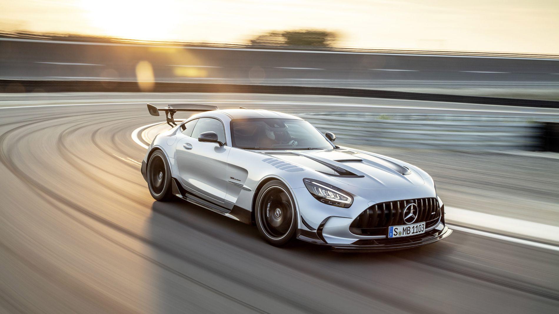 Mercedes-AMG GT Black Series - ინჟინრული შედევრი