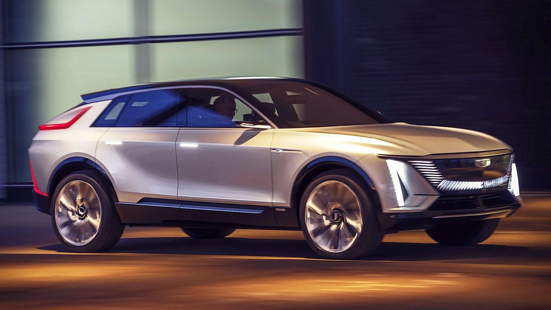 2022 Cadillac Lyriq - ელექტრო კროსოვერი