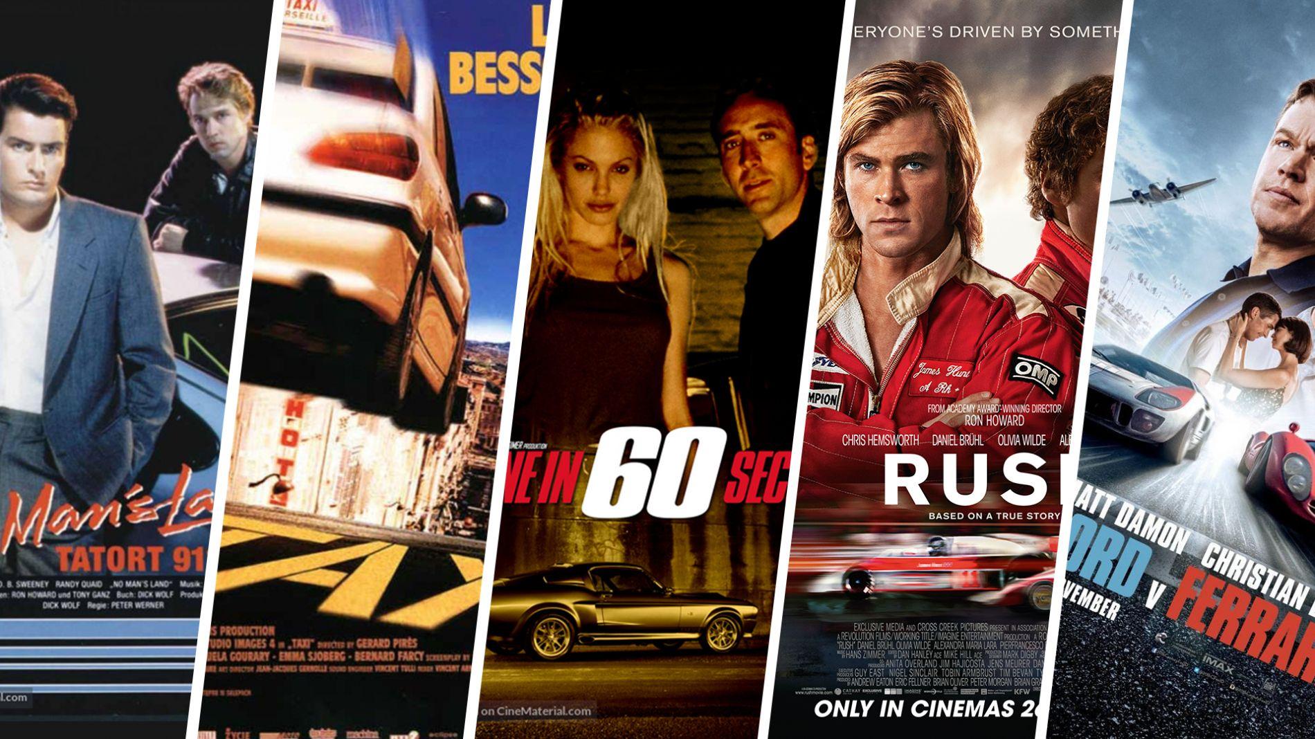 Top 5 ფილმი მანქანაზე