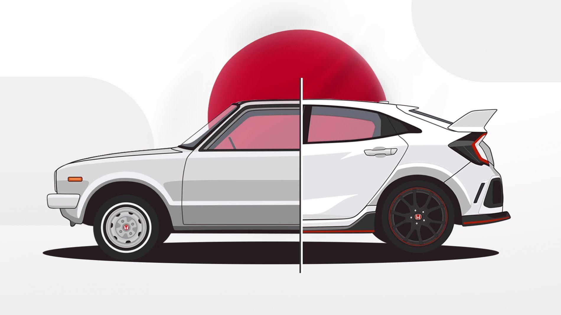 Honda Civic - ყველაზე გაყიდვადი მოდელის ისტორია
