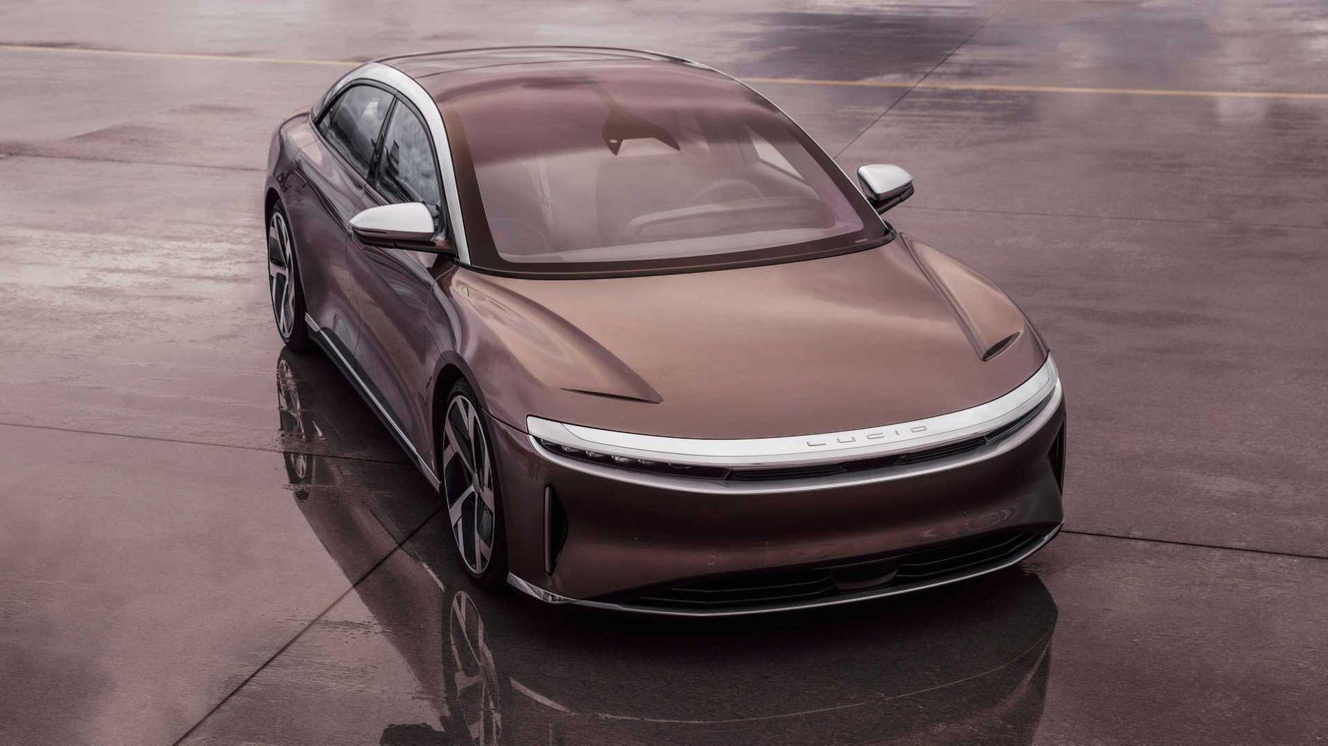 Lucid Motors-მა სერიული ელექტრო სედანი წარადგინა