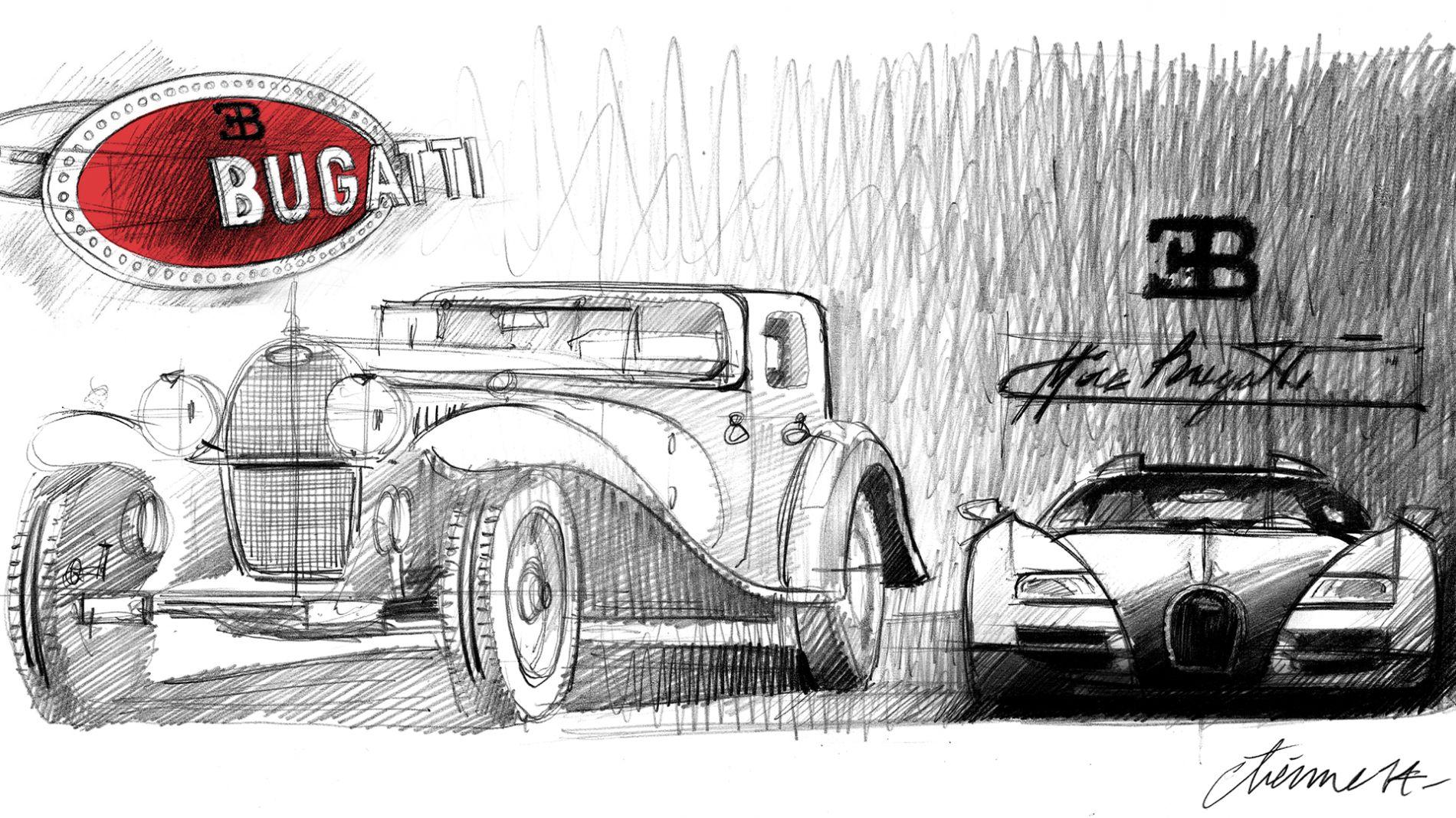 7 უცნობი ფაქტი Bugatti-ის ლოგოს შესახებ