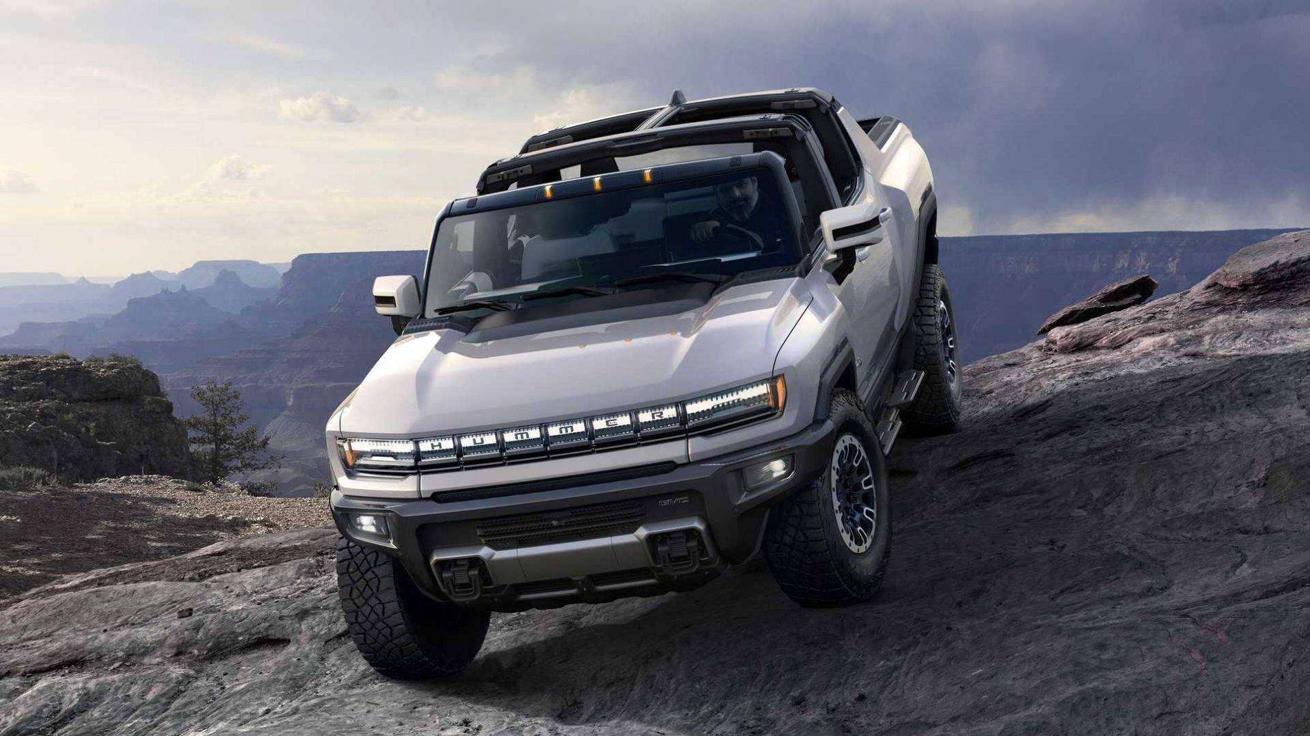 2021 წლის GMC Hummer Ev - ლეგენდა დაბრუნდა