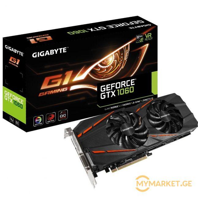 GIGABYTE GTX 1060 G1 GAMING 3GB
