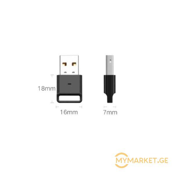ადაპტერი UGREEN US192 (30524) USB Bluetooth 4.0 Adpater Blac