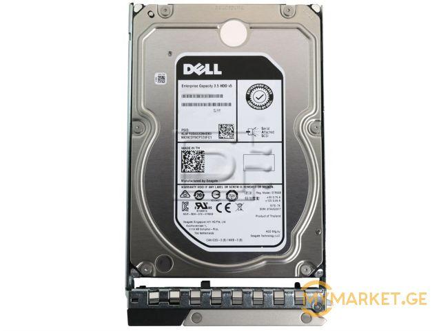 სერვერის მყარი დისკი Dell 2TB 7.2K RPM NLSAS 12Gbps 512n 3.5