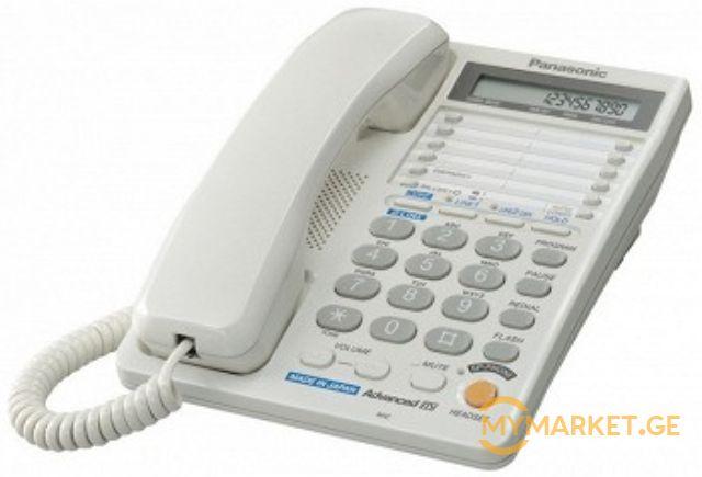 Panasonic KX-TS2368RUW ITS (2 LINE, LCD, SP, Ringer Indicate