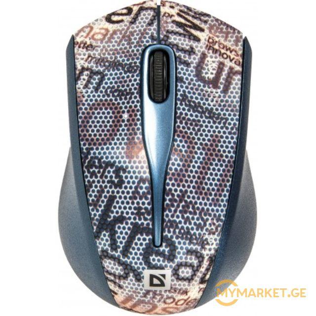 მაუსი  Defender StreetArt MS-305  1000–2000 dpi