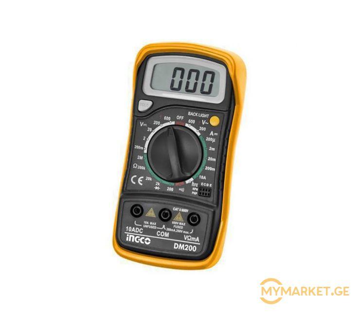 ციფრული მულტიმეტრი INGCO DM200