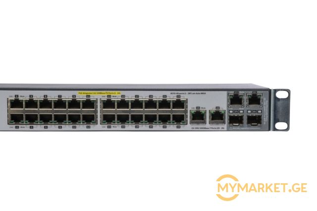 სვიჩი HP E2520-24-PoE Switch
