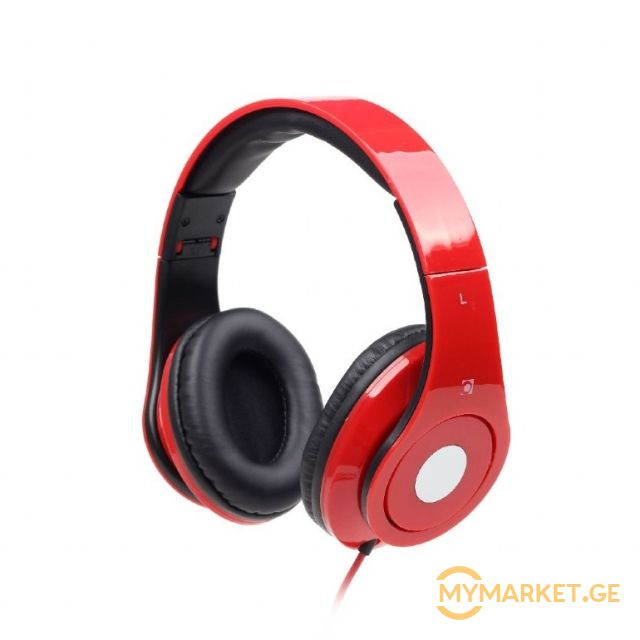 ყურსასმენი  GEMBIRD Folding stereo headphones ''Detroit'', r