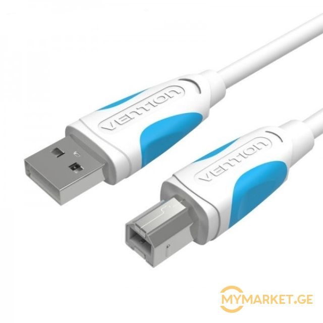 კაბელი VENTION USB 2.0 A male to B male Printer Cable