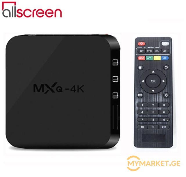 Allscreen Android Tv Box smart tv MXQ-4K 1GB RAM 8GB ROM