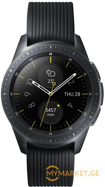 Smart საათი SAMSUNG GALAXY WATCH 42MM MIDNIGHT BLACK