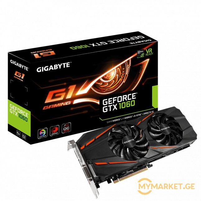 GTX 1060 G1 GAMING 6GB