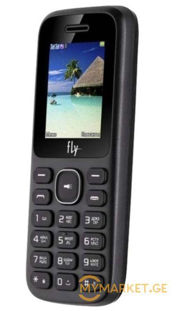 მობილური ტელეფონი FLY FF188 Black, 1 77'' 128x160, 260MHz, 1