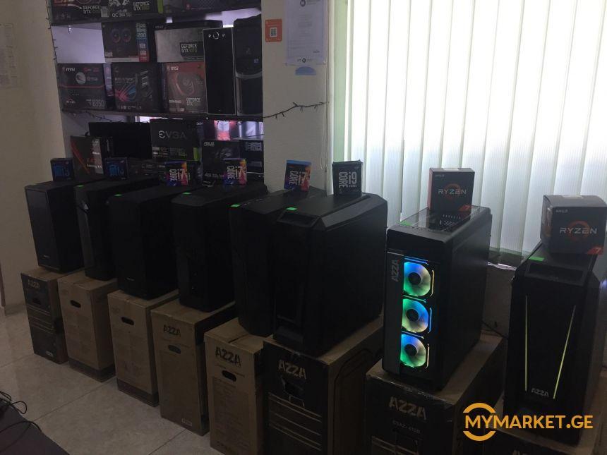 ყველა თაობის AMD RYZEN i-3 i-5 i-7 i-9 (იწყობა კომპიუტერები)