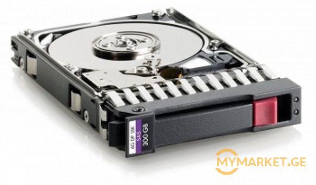 """მყარი დისკი HP 300GB 15000ბრ/წთ 2.5"""" (652611-B21)"""
