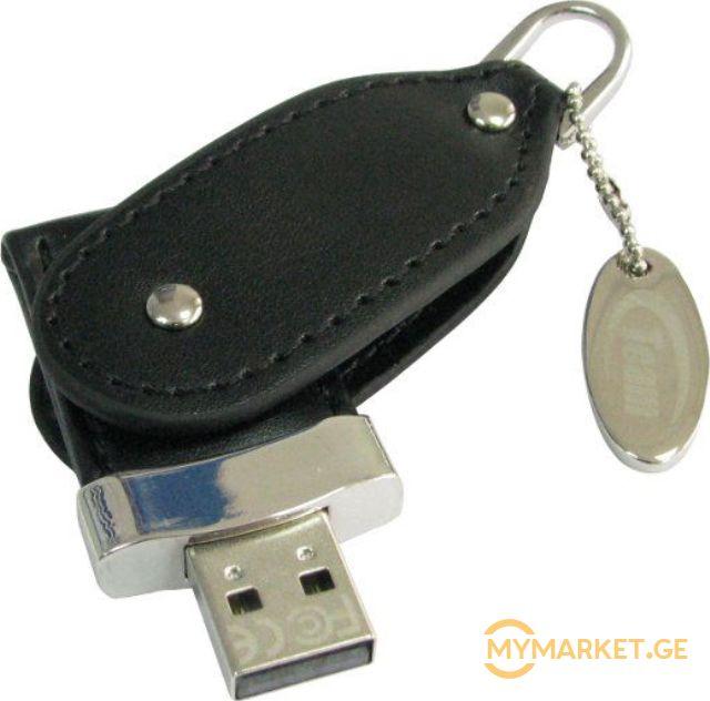 USB ფლეშ მეხსიერება  TEAM TL01 DRIVE 32 GB BLACK RETAIL