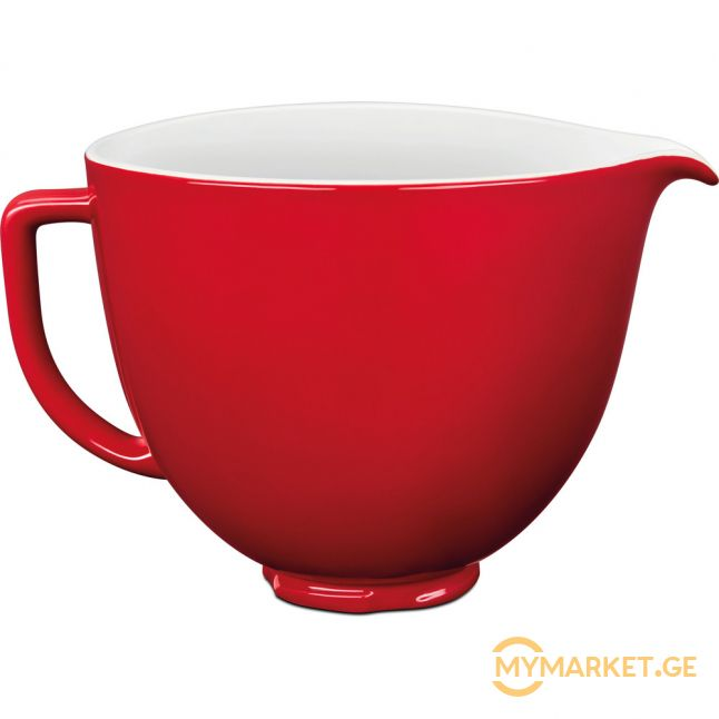 4.7 L CERAMIC BOWL - EMPIRE RED 5KSM2CB5ER