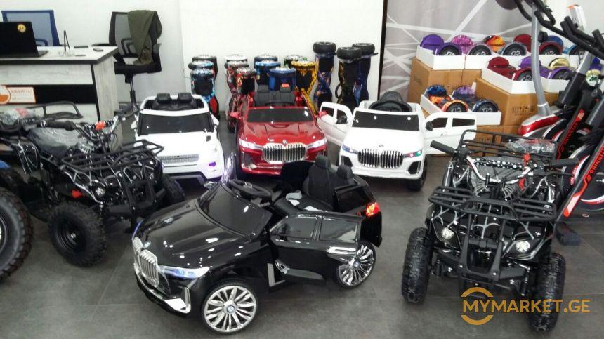 მივიხეთ ახალი კოლექცია საბავშვო მანქანების(საბითუმო ფასებში)