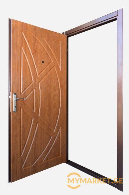 მდფ-ის კარის მონტაჟი