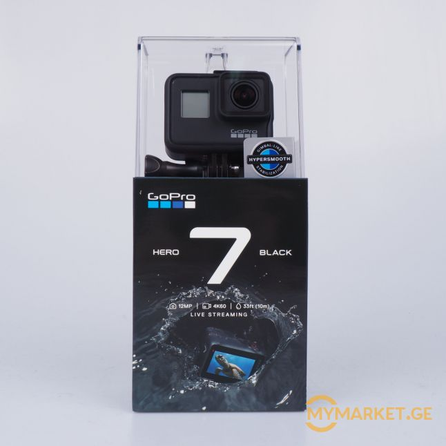 Gopro Hero 7 Black გოპრი