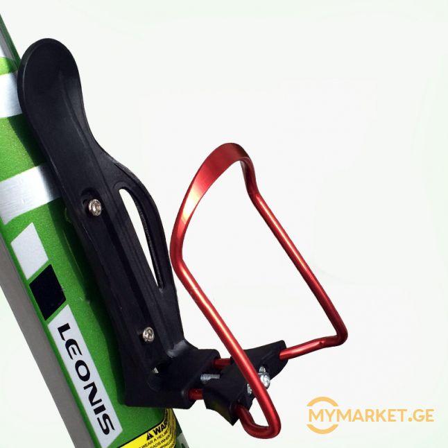 ბოთლის ველოსიპედზე სამაგრი (რეგულირებადი)
