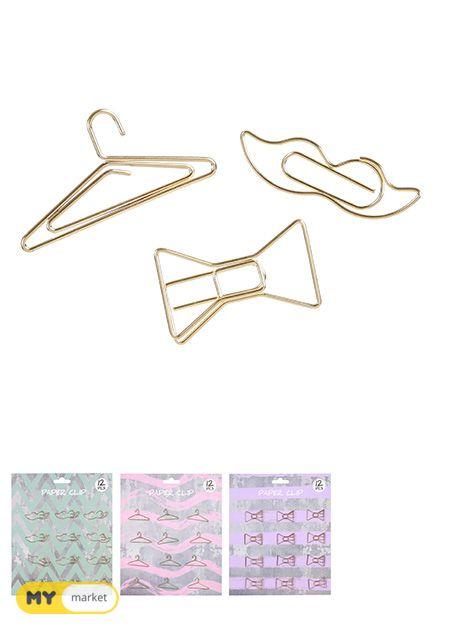 დამჭერი/Fashionable Paper Clip
