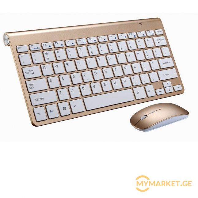 Multimedia Keyboard Wireless 2.4GHz მხოლოდ 75 ლარად