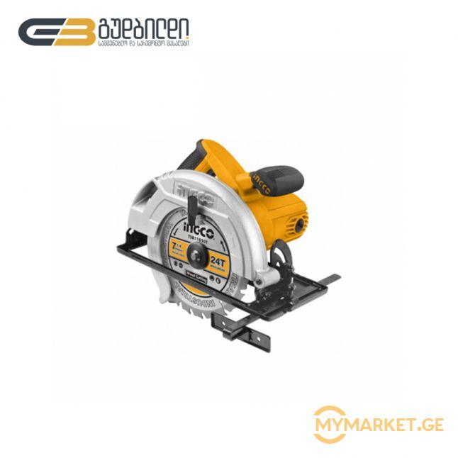 ცირკული ხერხი iNGCO 1400W (CS18528)