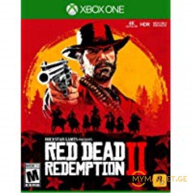 სათამაშო კონსოლი RED DEAD REDEPTION 2 \XBOX ONE