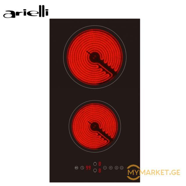 ჩასაშენებელი ელ. ქურა ARIELLI - AE-302S - სენსორული - 270 x