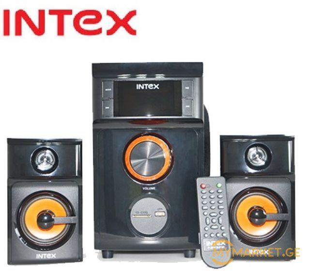 დინამიკი INTEX 'SPEAKER - 2.1 Subwoofer 2617 SUF BT/USB/SD/F