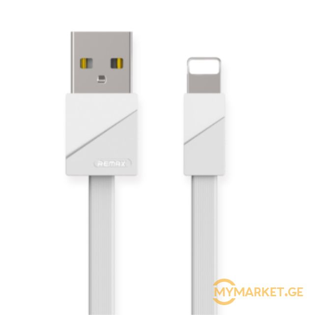 USb კაბელი  Remax Blade Data Cable RC-105i White