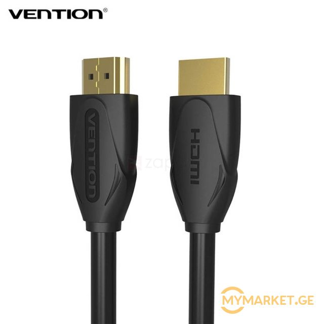 HDMI კაბელი VENTION VAA-B04-B800 HDMI Cable 8M Black
