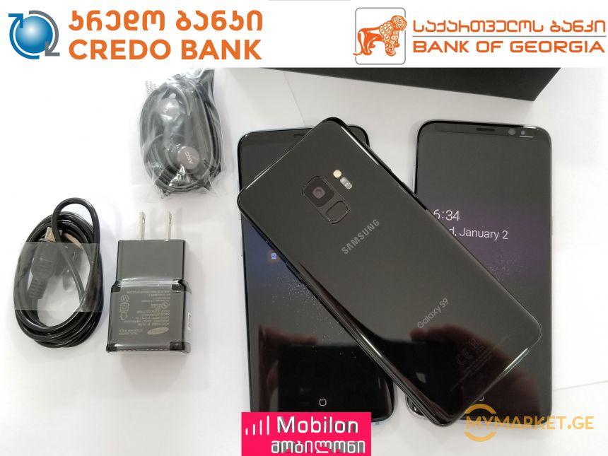 Samsung Galaxy S9 ორიგინალი!!! სრული გარანტიით!!!