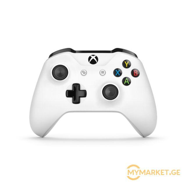 სათამაშო კონსოლის ჯოისტიკი XBOX ONE CRETE WHITE CONTROLLER
