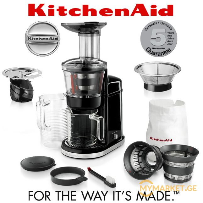 KitchenAid - Artisan Maximum Extraction Juicer (slow juicer)