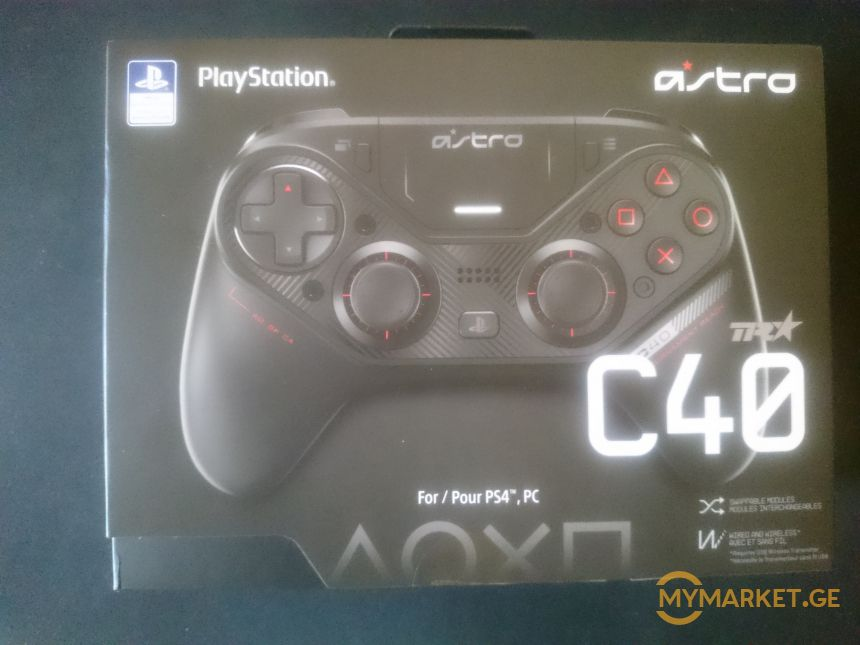 astro c40 ps4/pc controller wireless/wired ჯოისტიკი