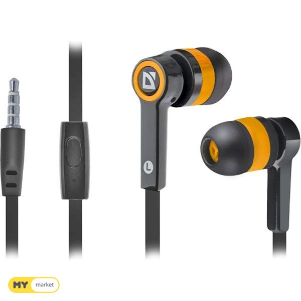 ყურსასმენი Headset for mobile devices Defender Pulse 420 bla